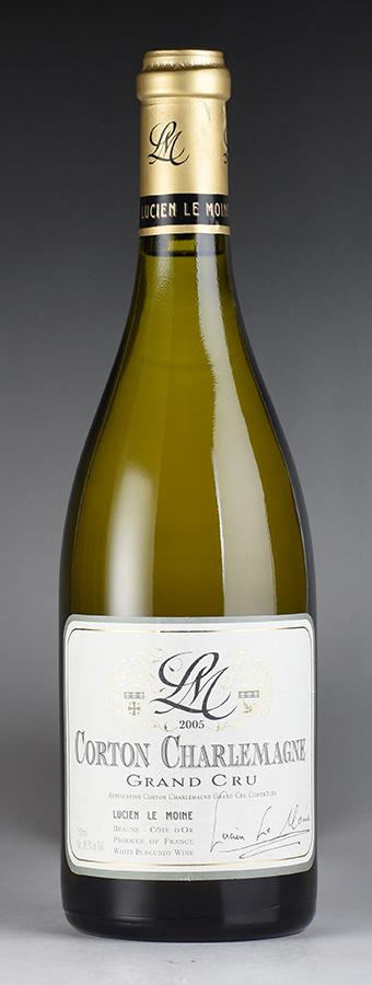[2005] ルシアン・ル・モワンヌ コルトン・シャルルマーニュフランス / ブルゴーニュ / 白ワイン