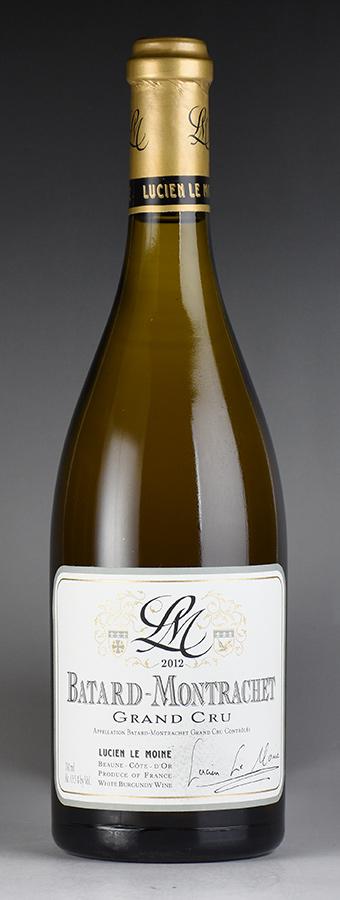 [2012] ルシアン・ル・モワンヌ バタール・モンラッシェフランス / ブルゴーニュ / 白ワイン
