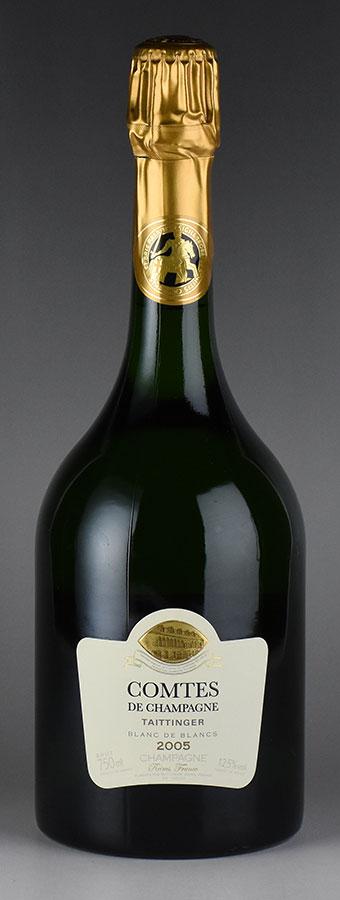 [2005] テタンジェ コント・ド・シャンパーニュ 【箱無し】フランス / シャンパーニュ / 発泡・シャンパン