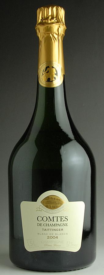 [2004] テタンジェ コント・ド・シャンパーニュ 【箱無し】フランス / シャンパーニュ / 発泡・シャンパン