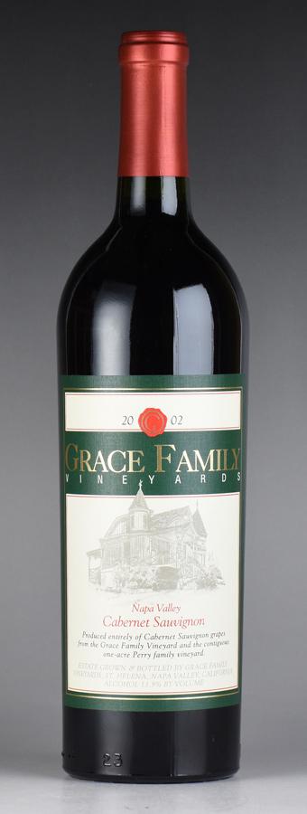 [2002] グレース・ファミリー カベルネ・ソーヴィニヨンアメリカ / カリフォルニア / 赤ワイン