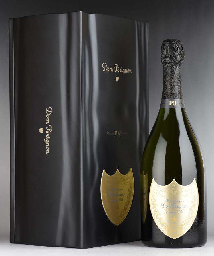 [1971] ドン・ペリニヨン P3 【ギフト箱】フランス / シャンパーニュ / 発泡・シャンパン