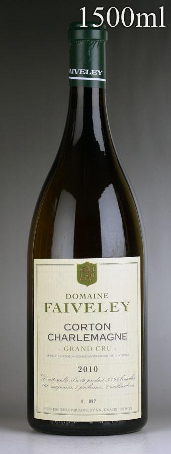 [2010] フェヴレ コルトン・シャルルマーニュ マグナム 1500mlフランス / ブルゴーニュ / 白ワイン