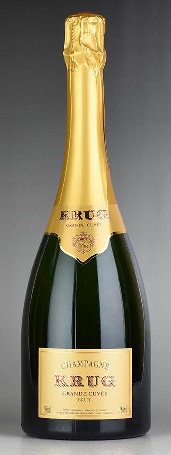 NV クリュッグ グランド・キュヴェ 【箱なし】フランス / シャンパーニュ / 発泡系・シャンパン