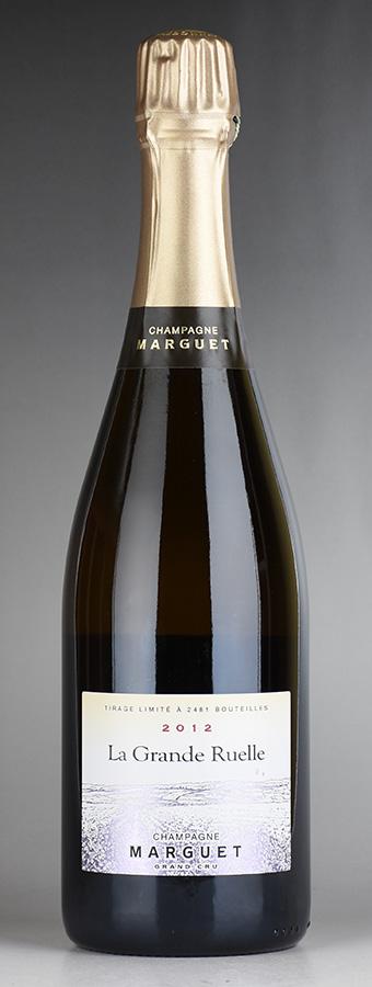 [2012] マルゲ ラ・グラン・リュエル グラン・クリュフランス / シャンパーニュ / 発泡・シャンパン