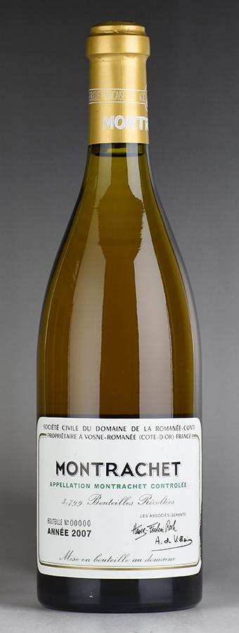 【送料無料】 [2007] ドメーヌ・ド・ラ・ロマネ・コンティ DRC モンラッシェ ※ラベル破れフランス / ブルゴーニュ / 白ワイン