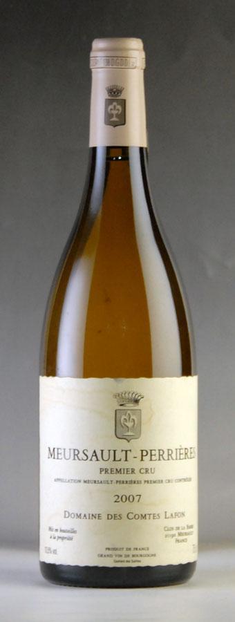 【送料無料】 [2007] コント・ラフォン ムルソー・ペリエール ※ラベル汚れ、傷ありフランス / ブルゴーニュ / 白ワイン