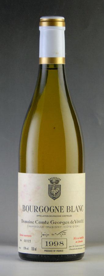 [1998] ヴォギュエ ブルゴーニュ・ブラン ※ラベル汚れあり