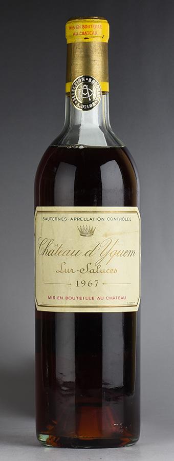[1967] シャトー・ディケムフランス / ボルドー / 白ワイン