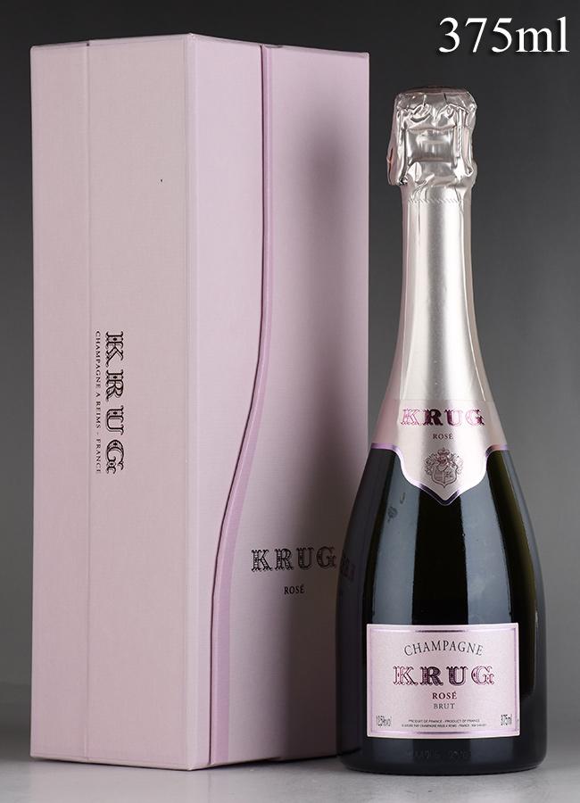 NV クリュッグ ロゼ ハーフ 375ml 【ギフト箱】フランス / シャンパーニュ / 発泡・シャンパン