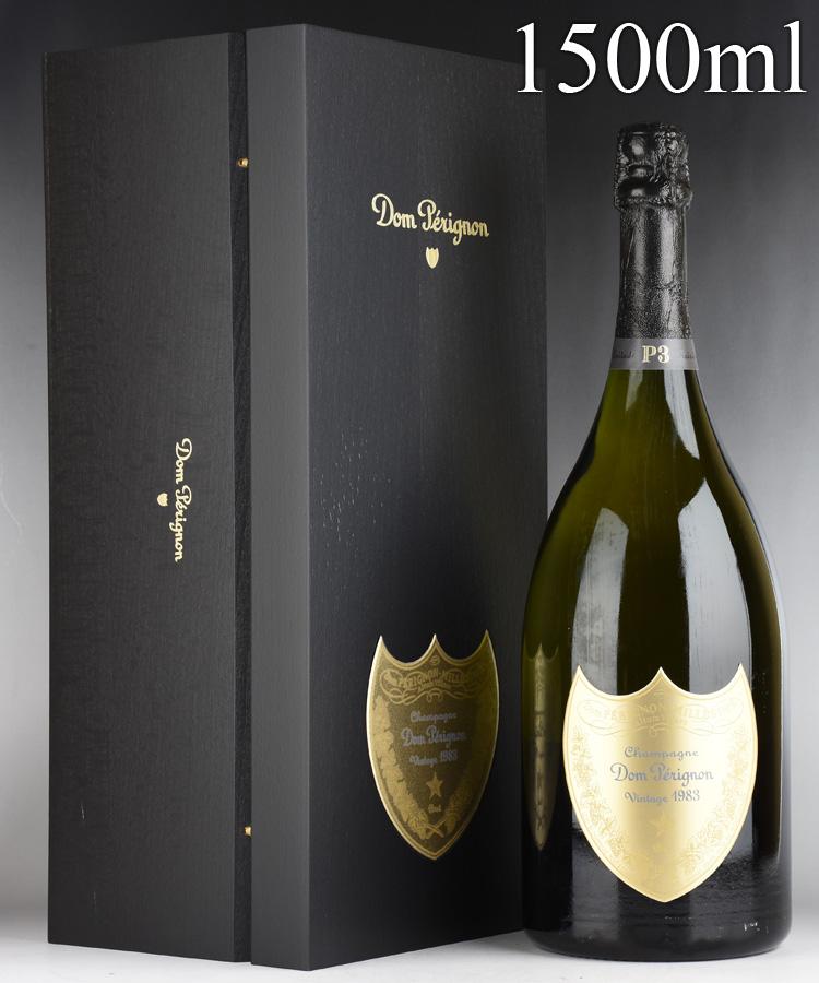 [1983] ドン・ペリニヨン P3 マグナム 1500ml 【ギフト箱】フランス / シャンパーニュ / 発泡・シャンパン