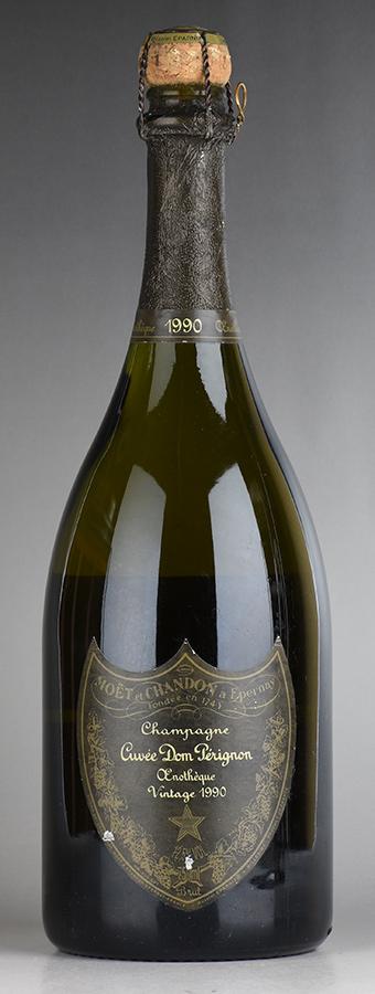 [1990] ドン・ペリニヨン エノテーク ※ラベル傷あり、キャップシール破れフランス / シャンパーニュ / 発泡・シャンパン