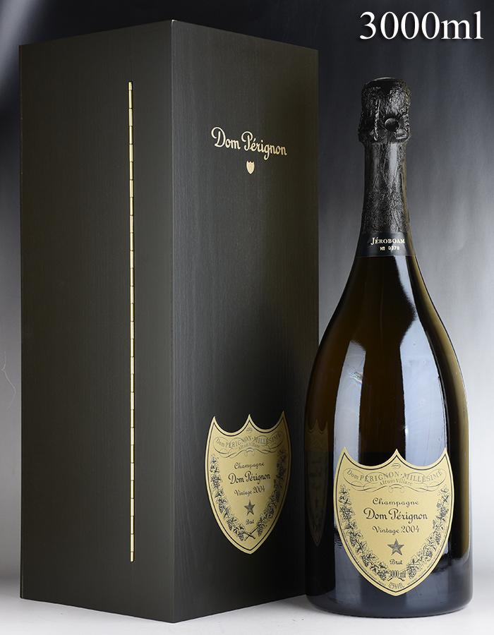 [2004] ドン・ペリニヨン ヴィンテージ ジェロボアム 3000ml 【木箱入り】フランス / シャンパーニュ / 発泡・シャンパン