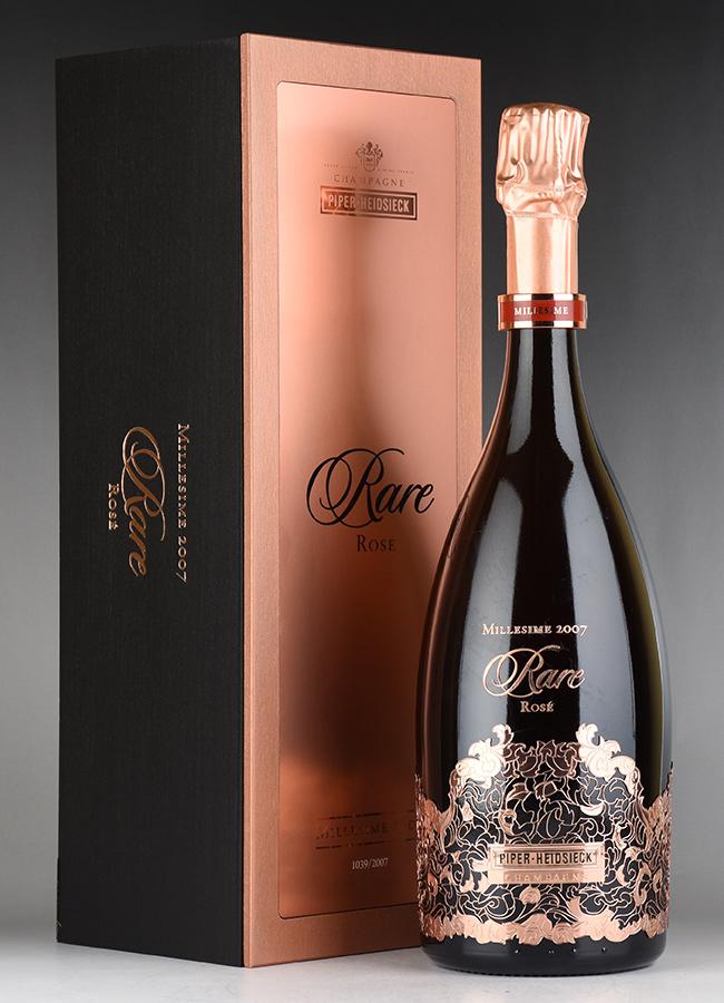 [2007] パイパー・エドシック レア・ロゼ 【ギフト木箱入り】フランス / シャンパーニュ / 発泡・シャンパン