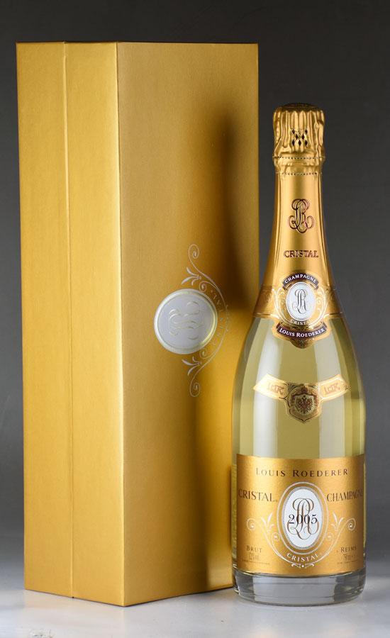 [2005] ルイ・ロデレール クリスタル 【ギフトボックス】 【正規品】フランス / シャンパーニュ / 発泡・シャンパン