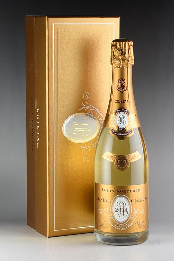 [2004] ルイ・ロデレール クリスタル 【ギフトボックス】 【正規品】フランス / シャンパーニュ / 発泡・シャンパン