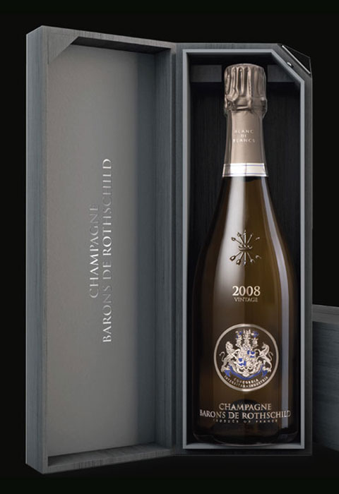 [2008] シャンパーニュ・バロン・ド・ロスチャイルド ブラン・ド・ブラン・ヴィンテージ 【ギフト箱】 【正規品】フランス / シャンパーニュ / 発泡・シャンパン