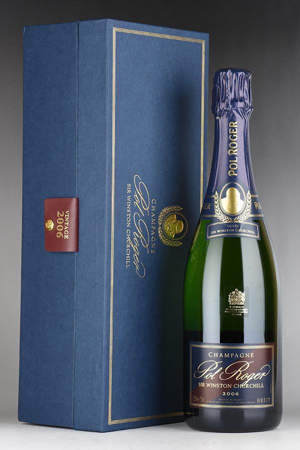 [2006] ポル・ロジェ キュヴェ・サー・ウィンストン・チャーチル 【ギフト箱】 【正規品】フランス / シャンパーニュ / 発泡・シャンパン