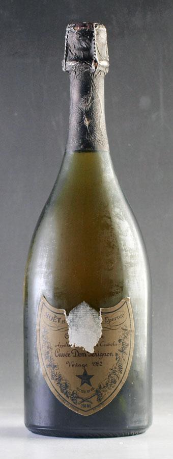 [1982] ドン・ペリニヨン ヴィンテージDom Perignon Vintage 750ml※ラベル破れ【ドンペリ ドンペリニヨン ドンペリニョン シャンパン】