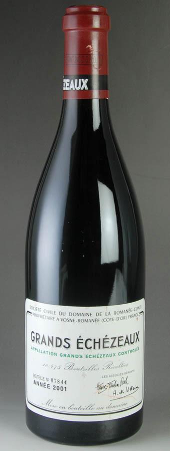 [2001] ドメーヌ・ド・ラ・ロマネ・コンティ DRC グラン・エシェゾーフランス / ブルゴーニュ / 赤ワイン