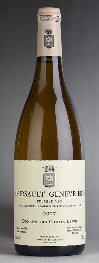 [2007] コント・ラフォン ムルソー・ジュヌヴリエールフランス / ブルゴーニュ / 白ワイン