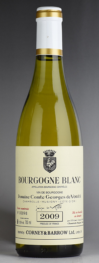 [2009] ヴォギュエ ブルゴーニュ・ブランフランス / ブルゴーニュ / 白ワイン