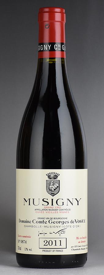[2011] ヴォギュエ ミュジニー・ヴィエイユ・ヴィーニュフランス / ブルゴーニュ / 赤ワイン