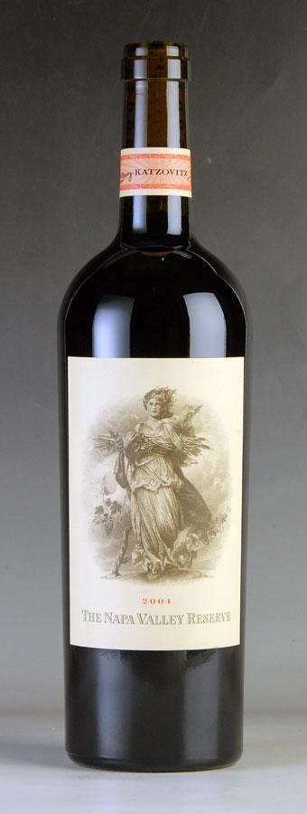 [2004] ザ・ナパ・ヴァレー・リザーブアメリカ / カリフォルニア / 赤ワイン[のこり1本]