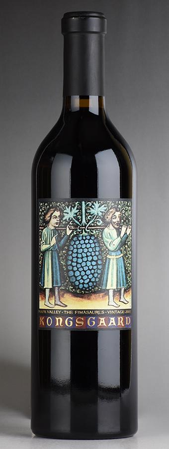 [2011] コングスガード フィマサウルスアメリカ / カリフォルニア / 赤ワイン