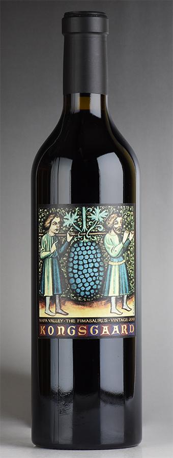 [2010] コングスガード ザ・フィマサウルスアメリカ / カリフォルニア / 赤ワイン