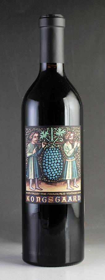 [2014] コングスガード フィマサウルスアメリカ / カリフォルニア / 赤ワイン