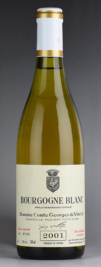 [2001] ヴォギュエ ブルゴーニュ・ブランフランス / ブルゴーニュ / 白ワイン