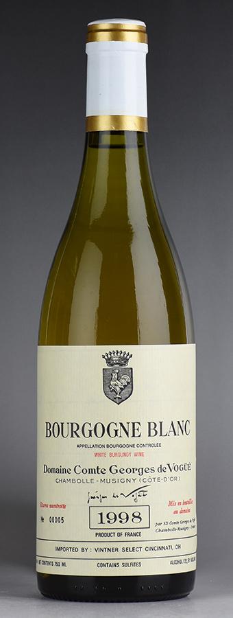 [1998] ヴォギュエ ブルゴーニュ・ブランフランス / ブルゴーニュ / 白ワイン