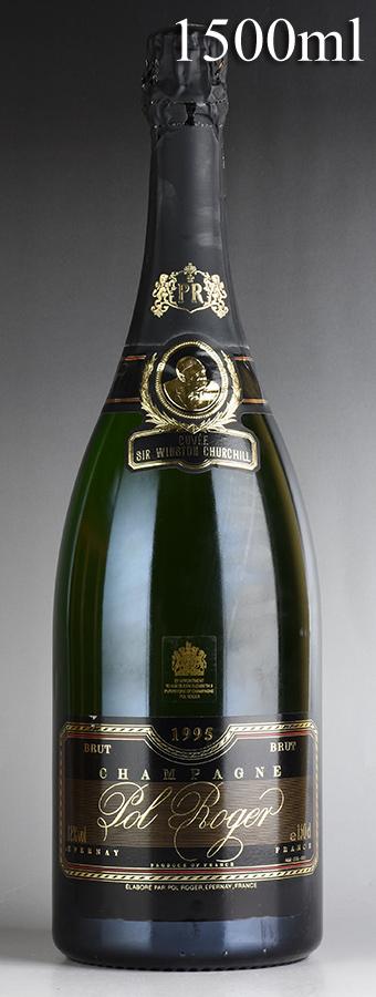 [1995] ポル・ロジェ キュヴェ・サー・ウィンストン・チャーチル マグナム 1500ml 【箱なし】フランス / シャンパーニュ / 発泡・シャンパン