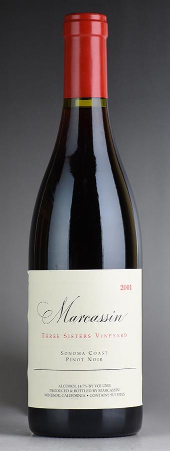 [2001] マーカッシン ピノ・ノワール スリー・シスターズ・ヴィンヤードアメリカ / カリフォルニア / 赤ワイン