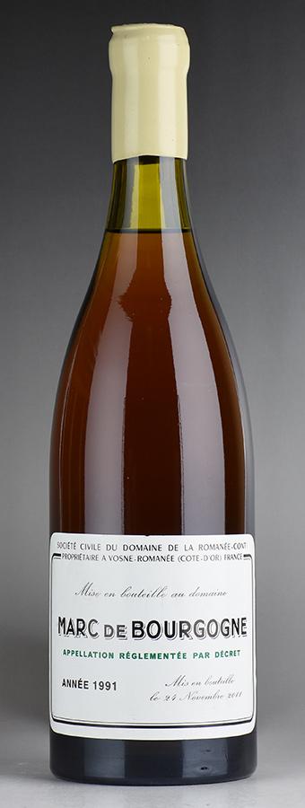 [1991] ドメーヌ・ド・ラ・ロマネ・コンティ DRC マール・ド・ブルゴーニュ ※ロウキャップ欠けフランス / ブルゴーニュ / ブランデー