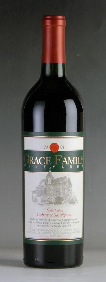 [2001] グレース・ファミリー カベルネ・ソーヴィニヨンアメリカ / カリフォルニア / 赤ワイン