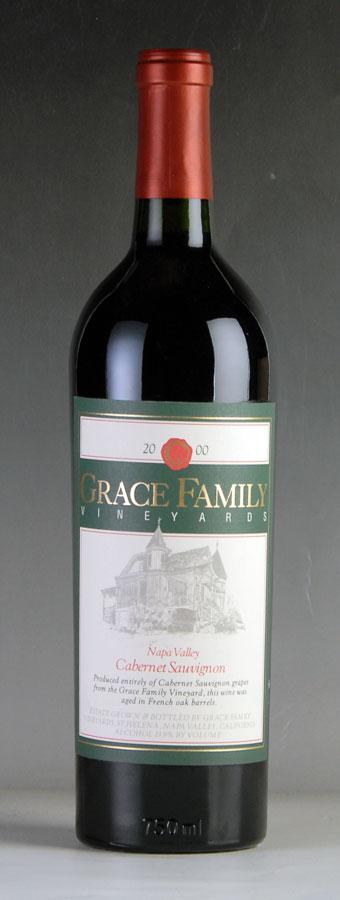 [2000] グレース・ファミリー カベルネ・ソーヴィニヨンアメリカ / カリフォルニア / 赤ワイン