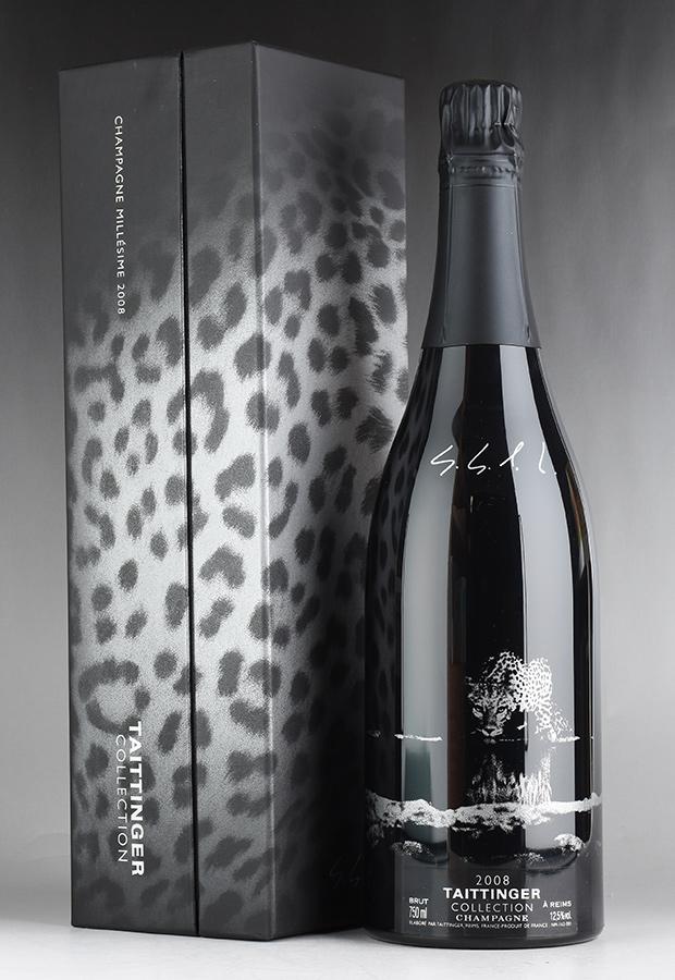 [2008] テタンジェ コレクション セバスチャン・サルガド 【ギフト箱】フランス / シャンパーニュ / 発泡・シャンパン