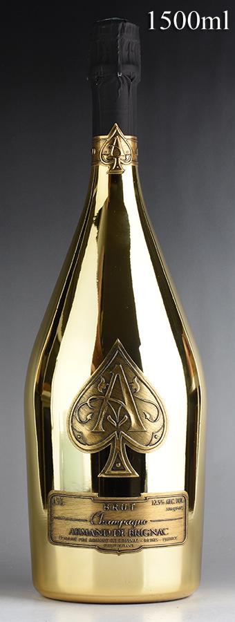NV アルマン・ド・ブリニャック ゴールド マグナム 1500ml 【箱なし】 / シャンパーニュ / 発泡・シャンパン