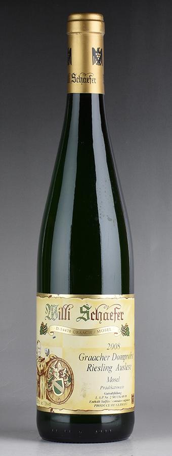 [2008] ヴィリ・シェーファー グラーヒャー ドームプロブスト リースリング・アウスレーゼ ゴールド・カプセル #08ドイツ / 白ワイン /