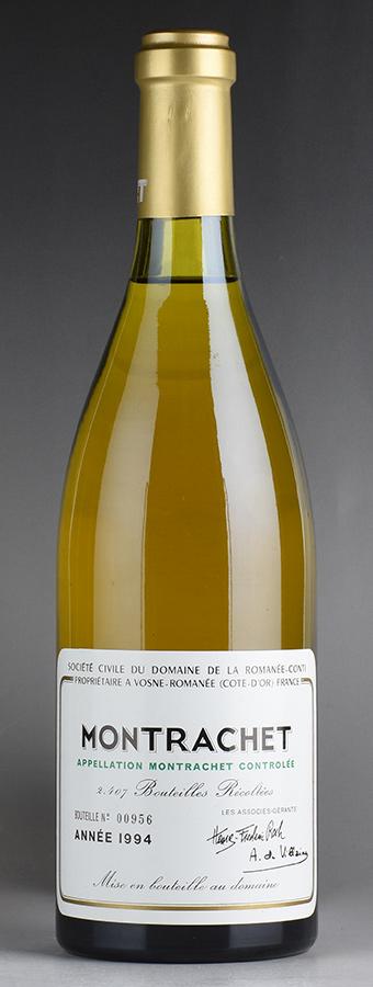 【送料無料】 [1994] ドメーヌ・ド・ラ・ロマネ・コンティ DRC モンラッシェフランス / ブルゴーニュ / 白ワイン
