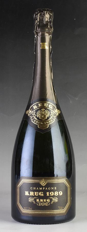 [1989] クリュッグ ヴィンテージ 【箱なし】 ※ラベル擦れありフランス / シャンパーニュ / 発泡・シャンパン
