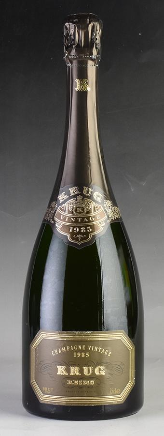 [1985] クリュッグ ヴィンテージ 【箱なし】 ※ラベル擦れありフランス / シャンパーニュ / 発泡・シャンパン