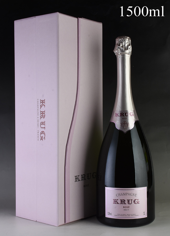 NV クリュッグ ロゼ マグナム 1500ml 【ギフト箱】フランス / シャンパーニュ / 発泡・シャンパン
