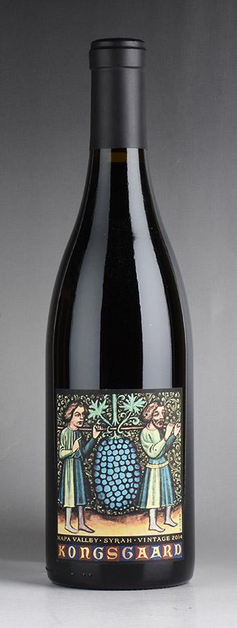 [2014] コングスガード シラーアメリカ / カリフォルニア / 赤ワイン