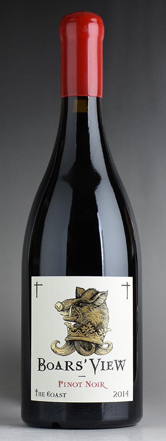 【10月特別特価】[2014] ボアズ・ビュー ピノ・ノワール ザ・コーストアメリカ / カリフォルニア / 赤ワイン