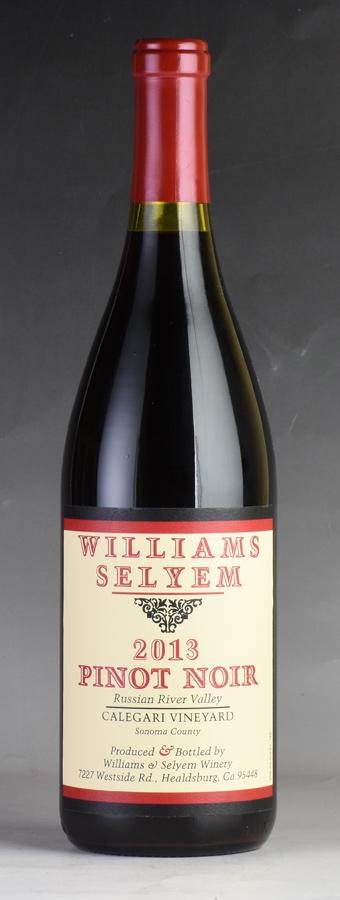 [2013] ウィリアムズ・セリエム カレガリ・ヴィンヤード ピノ・ノワール 【ワイナリー蔵出し】アメリカ / カリフォルニア / 赤ワイン