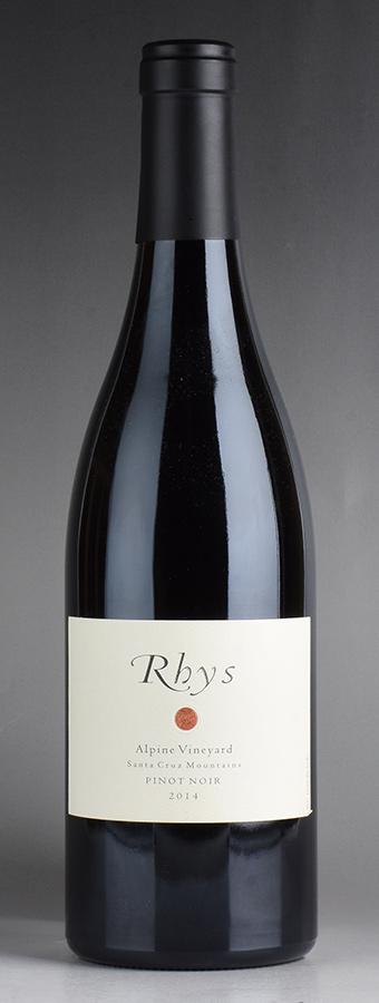[2014] リース アルパイン・ヴィンヤード ピノ・ノワールアメリカ / カリフォルニア / 赤ワイン