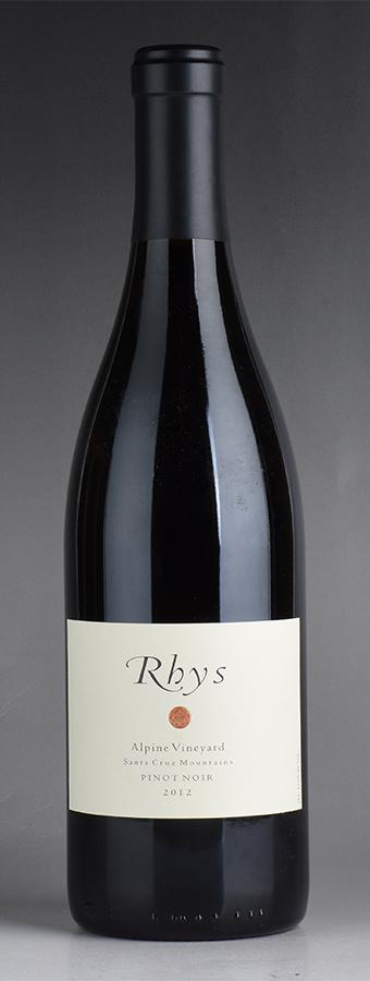 [2012] リース アルパイン・ヴィンヤード ピノ・ノワールアメリカ / カリフォルニア / 赤ワイン